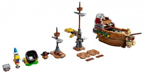 Lego Super Mario 71391 Bowser's Airship-1