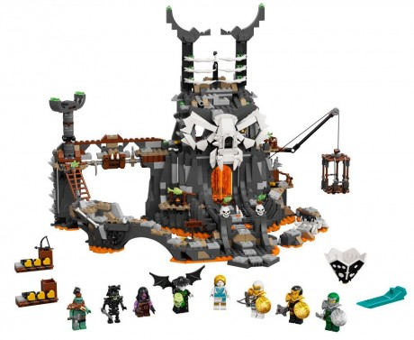 Lego Ninjago 71722 Skull Sorcerer's Dungeons-1