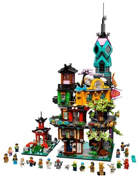 Lego Ninjago 71741 Ninjago City Gardens-1