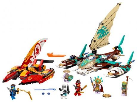 Lego Ninjago 71748 Catamaran Sea Battle-1