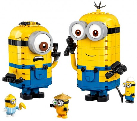 Lego Minions 75551 Brick-built Minions and their Lair-1