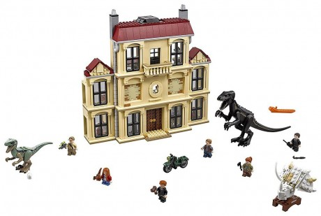 Lego Jurassic World 75930 Indoraptor Rampage at Lockwood Estate-1