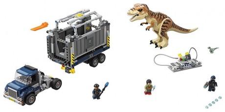 Lego Jurassic World 75933 T. Rex Transport-1