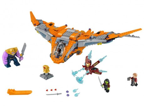 Lego Marvel Super Heroes 76107 Thanos Ultimate Battle-1