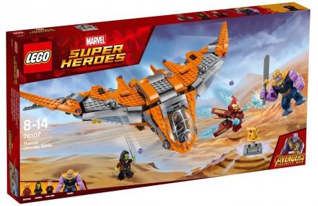Lego Marvel Super Heroes 76107 Thanos Ultimate Battle