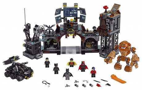 Lego DC Super Heroes 76122 Batcave Clayface Invasion-1