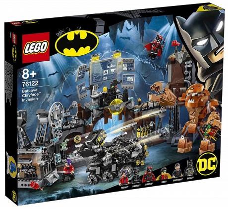 Lego DC Super Heroes 76122 Batcave Clayface Invasion