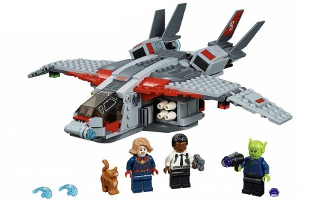 Lego Marvel Super Heroes 76127 Captain Marvel and The Skrull Attack-1
