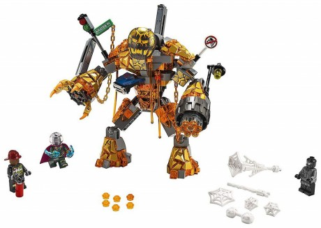 Lego Marvel Super Heroes 76128 Molten Man Battle