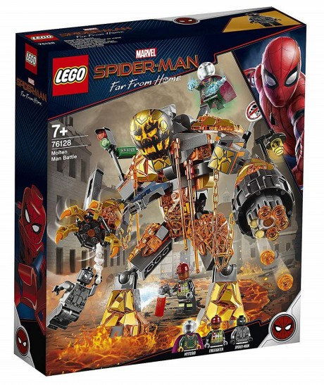 Lego Marvel Super Heroes 76128 Molten Man Battle-1