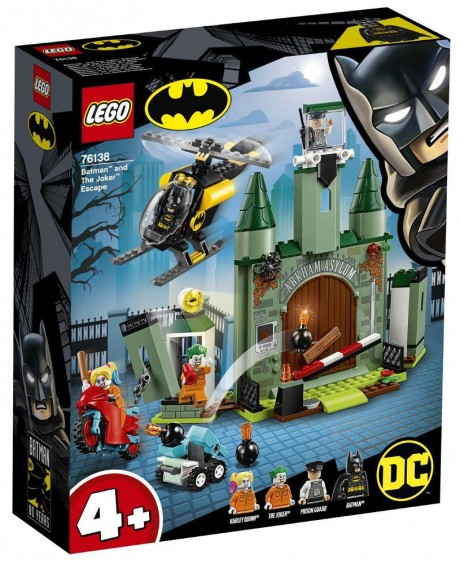 Lego DC Super Heroes 76138 Batman and The Joker Escape