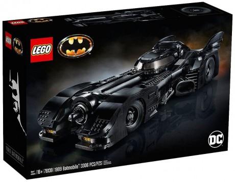 Lego DC Super Heroes 76139 1989 Batmobile