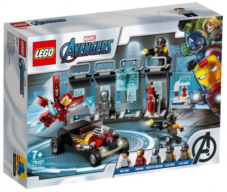 Lego Marvel Super Heroes 76167 Iron Man Armory