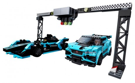 Lego Speed Champions 76898 Formula E Panasonic Jaguar Racing Gen2 car and Jaguar I-PACE eTROPHY-1